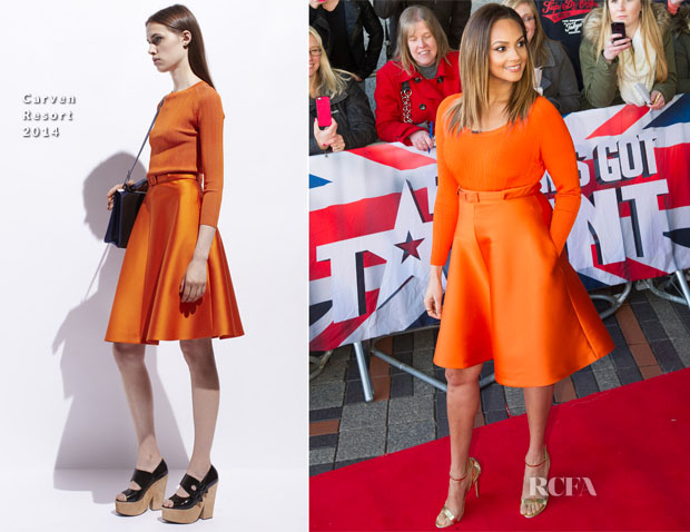 Alesha Dixon In Carven  - Britain's Got Talent Birmingham Auditions