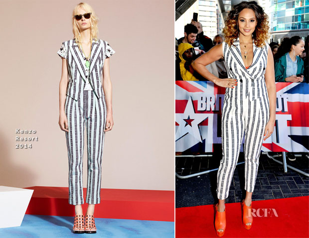 Alesha Dixon In Kenzo - 'Britain's Got Talent' Manchester  Auditions