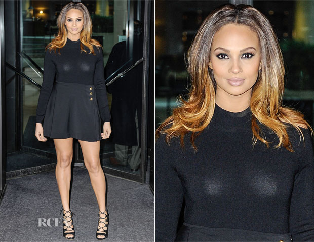 Alesha Dixon In Versus - Britain's Got Talent Birmingham Auditions
