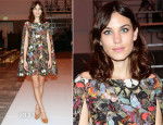 Alexa Chung In Valentino - International Woolmark Prize