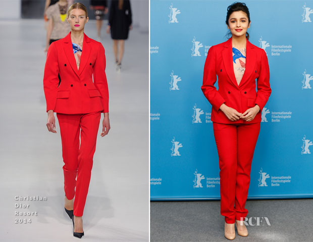 Alia Bhatt In Christian Dior  - 'Highway' Berlin Film Festival Photocall