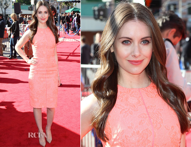 Alison Brie In J Mendel - 'The Lego Movie' LA Premiere