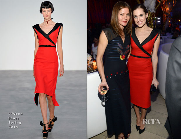 Allison Williams In L'Wren Scott - Great American Songbook Event Honoring Bryan Lourd