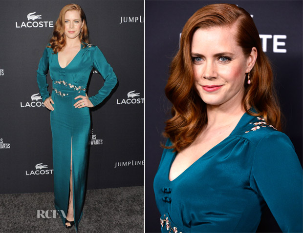 Amy Adams In Frocktalk by Kristin Burke - 16th Annual Costume Designers Guild Awards