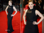 Amy Adams In Victoria Beckham - 2014 BAFTAs