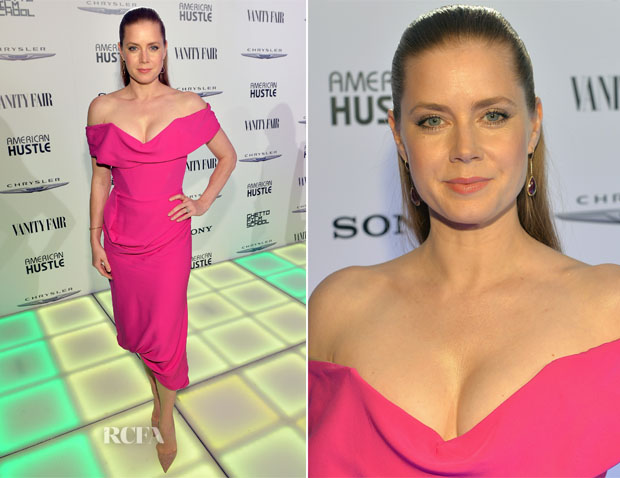 Amy Adams In Vivienne Westwood - Vanity Fair And Chrysler Toast American Hustle
