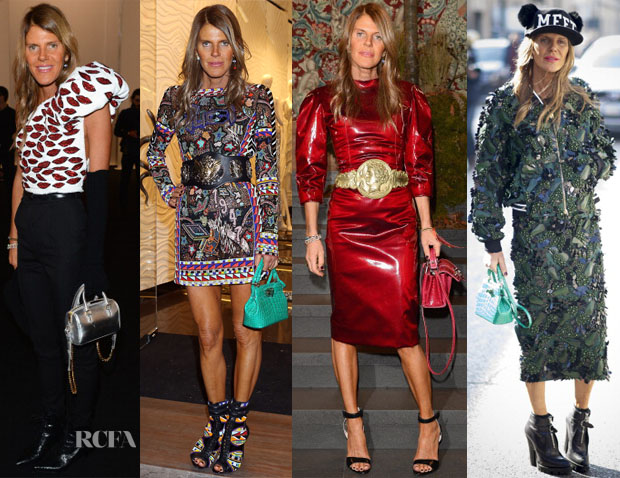 Anna Dello Russo Milan Fashion Week
