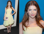 Anna Kendrick In Christian Dior - 'The Last Five Years' New York Screening