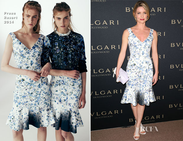 Annabelle Wallis In Preen - BVLGARI Presents 'Decades Of Glamour'