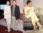 Anne Hathaway In Chloé - Louis XIII and The Film Foundation's Creative Encounter Eveny
