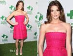 Ashley Greene In Giambattista Valli -  Global Green USA's 11th Annual Pre-Oscar Party