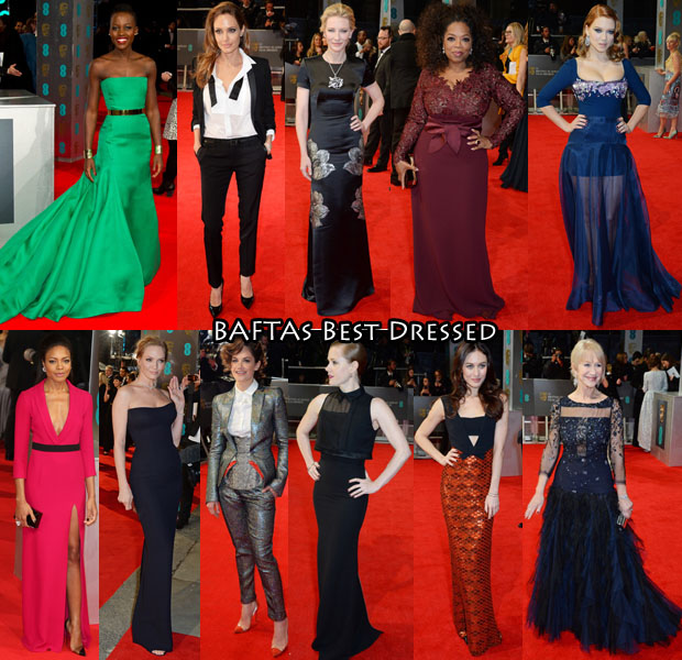 Who Was Your Best Dressed At The 2014 BAFTAs  - Red Carpet Fashion ... 2ae6fe0f3aa