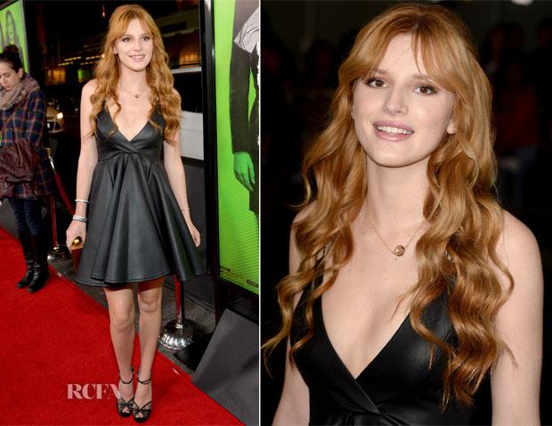 Bella Thorne In AQ AQ - 'Vampire Academy' LA Premiere