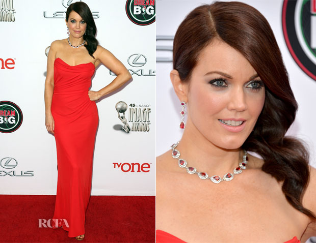 Bellamy Young In David Meister - NAACP Image Awards 2014