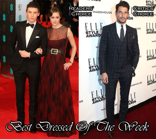 Best Dressed Of The Week - Eddie & David Gandy