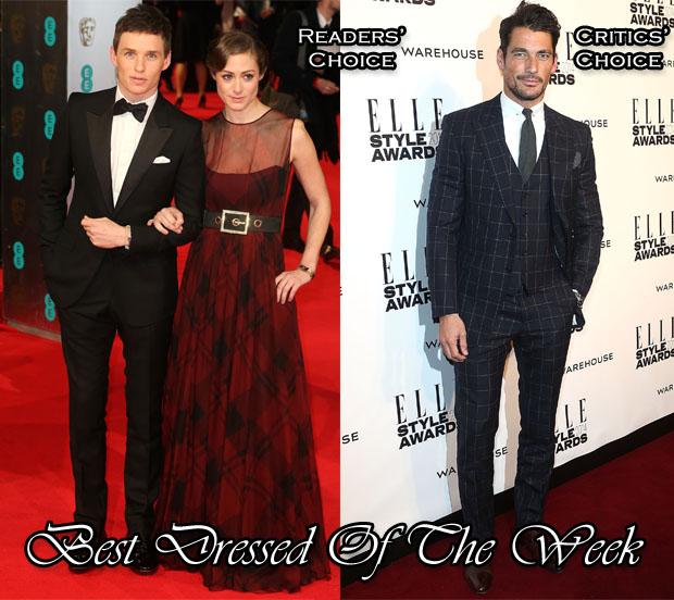 Best Dressed Of The Week - Eddie & David Gandy