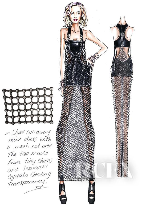 Atelier Versace sketch