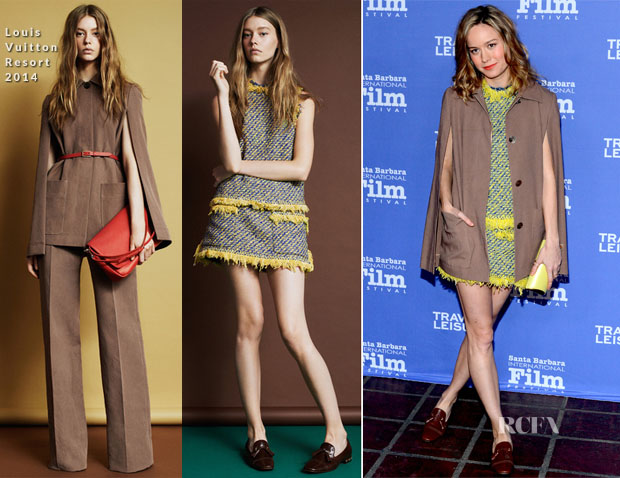 Brie Larson In Louis Vuitton - 29th Santa Barbara International Film Festival