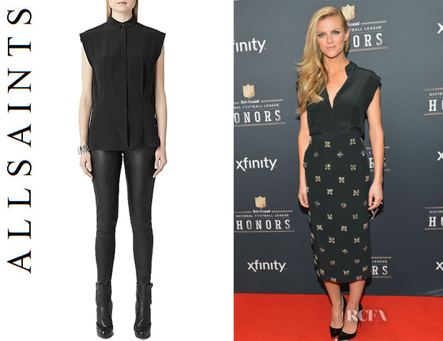Brooklyn Decker's All Saints 'Webster' Shirt