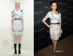 Camilla Belle In Prabal Gurung - BVLGARI Presents 'Decades Of Glamour'