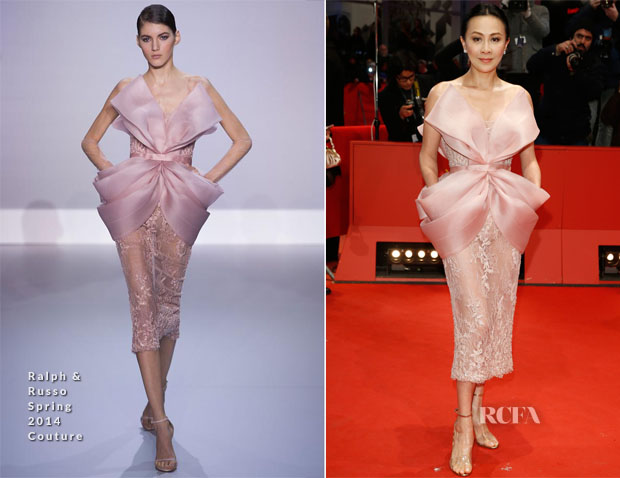 Carina Lau In Ralph & Russo Couture - Berlin Film Festival Closing Ceremony
