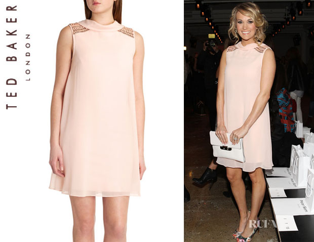 Carrie Underwood's Ted Baker London 'Pamma' Dress1
