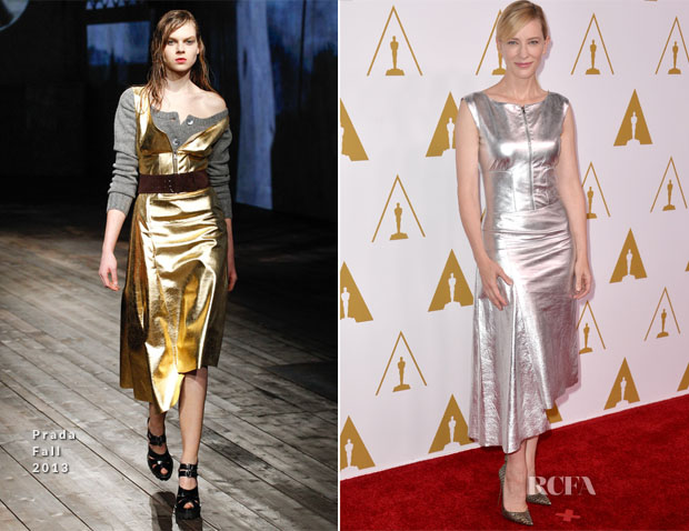 Cate Blanchett In Prada -  86th Academy Awards Nominees Luncheon