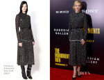 Cate Blanchett In Proenza Schouler - 'Monument Men' New York Premiere