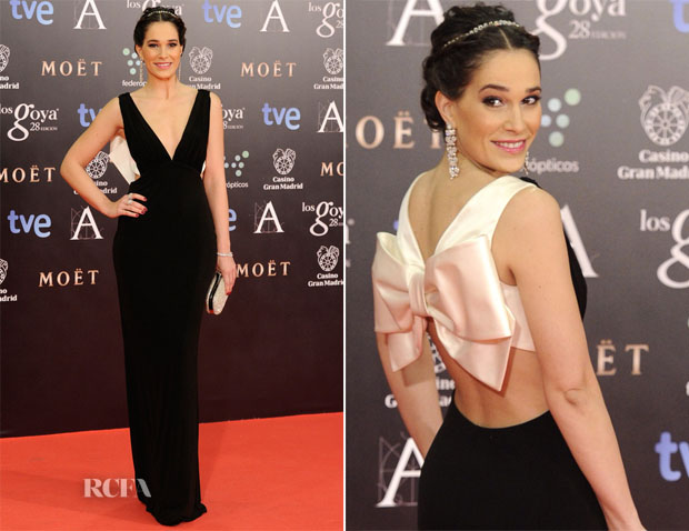 Celia Freijeiro In Paule Ka - Goya Cinema Awards 2014