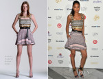 Chanel Iman In Fausto Puglisi - Sports Illustrated Swimsuit South Beach Soiree