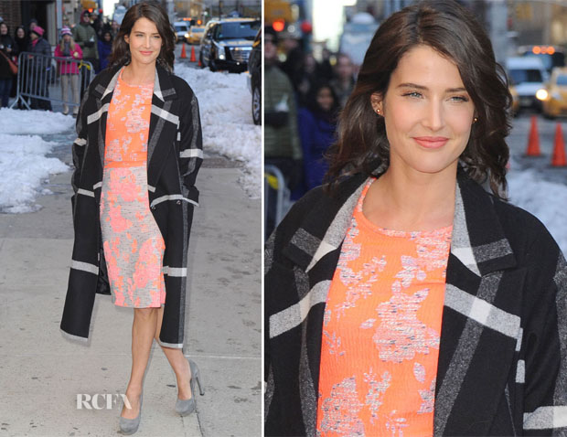 Cobie Smulders In Katherine Kidd - Late Show with David Letterman