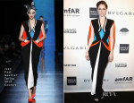 Coco Rocha In Jean Paul Gaultier Couture - 2014 amfAR New York Gala
