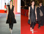 Daisy Bevan In Roksanda Ilincic - 'The Two Faces of January' Berlin Film Festival Premiere