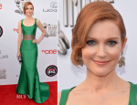 Darby Stanchfield In Carolina Herrera - NAACP Image Awards 2014