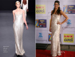Deepika Padukone In Naeem Khan - Zee Cine Awards 2014