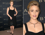 Dianna Agron In Dolce & Gabbana - BVLGARI Presents 'Decades Of Glamour'