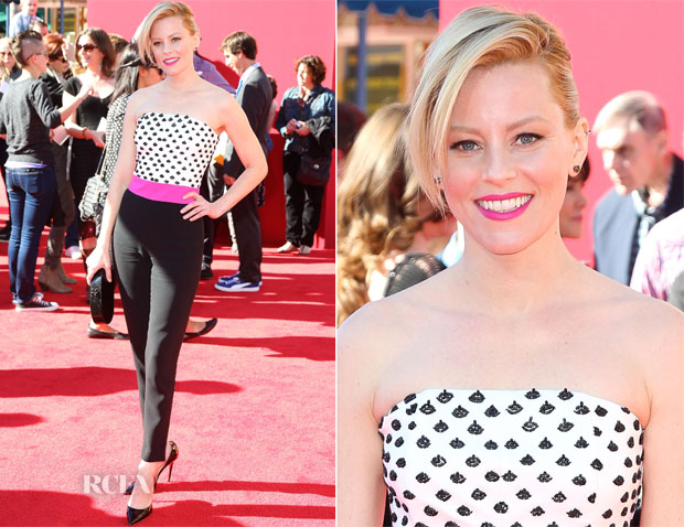 Elizabeth Banks In Osman - 'The Lego Movie' LA Premiere