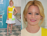 Elizabeth Banks In Roksanda Ilincic - 2nd Annual Listerine 21-Day Challenge