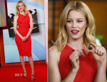 Elizabeth Banks In Roland Mouret - The Today Show