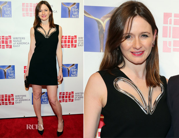 Emily Mortimer In Christopher Kane - The 66th Annual Writers Guild Awards East Coast Ceremony