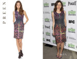 Emily Mortimer's Preen 'Lia' Dress