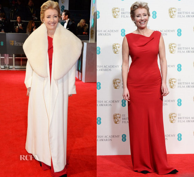 Emma Thompson In Maria Grachvogel - 2014 BAFTAs