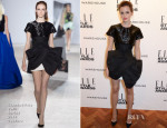Emma Watson In Giambattista Valli Couture - Elle Style Awards 2014
