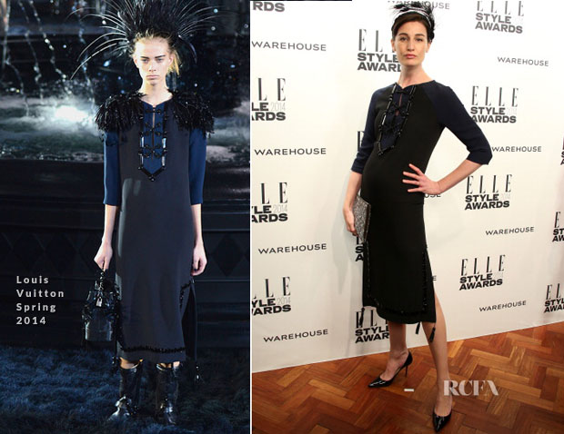 Erin O'Connor In Louis Vuitton - Elle Style Awards 2014