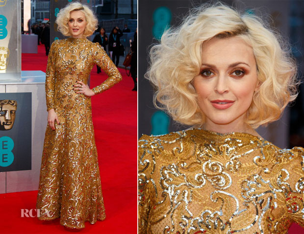 Fearne Cotton In WilliamVintage - 2014 BAFTAs