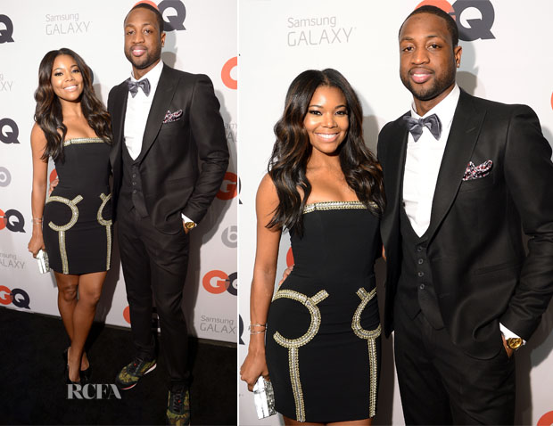 Gabrielle Union In Moschino -  GQ & LeBron James NBA All-Star Party