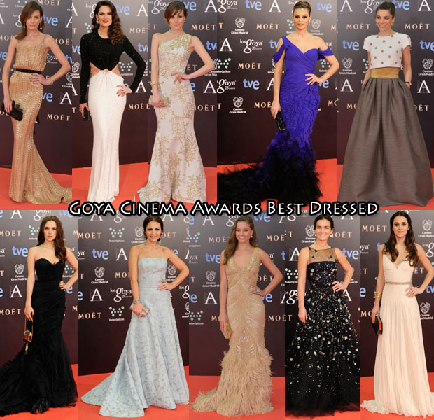 Who Was Your Best Dressed At The Goya Cinema Awards 2014 ...