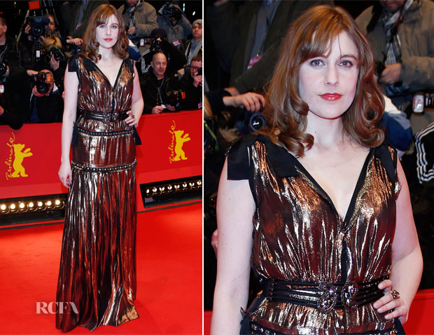 Greta Gerwig In Lanvin - 'The Grand Budapest Hotel' Berlinale Film Festival Premiere
