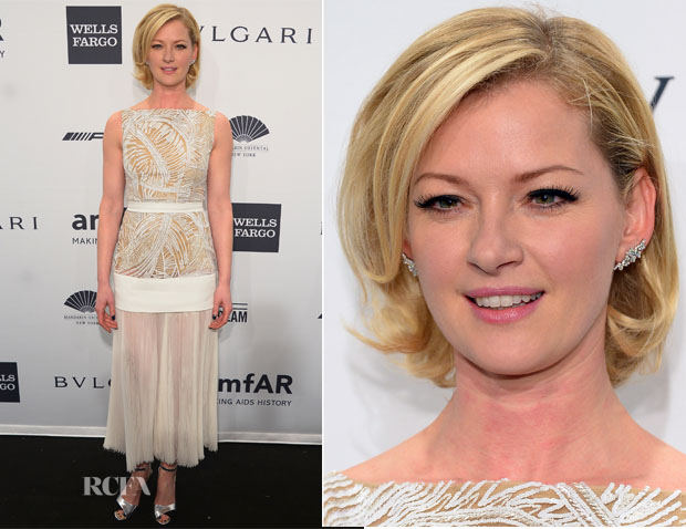 Gretchen Mol In J Mendel - 2014 amfAR New York Gala