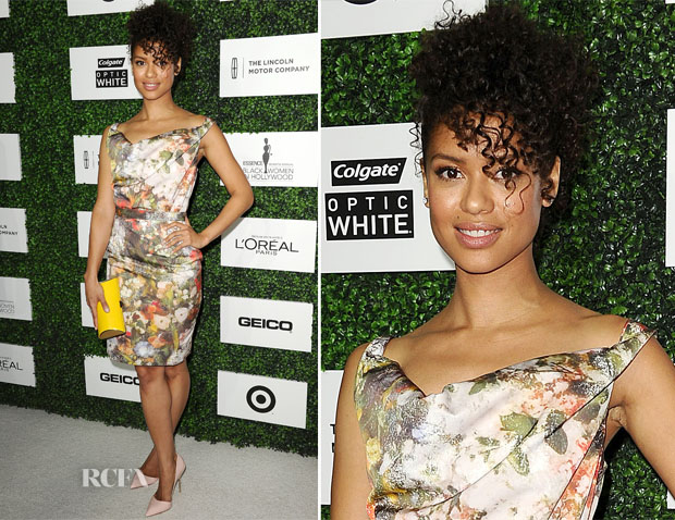 Gugu Mbatha-Raw In Vivenne Westwood Red Label - 7th Annual ESSENCE Black Women In Hollywood